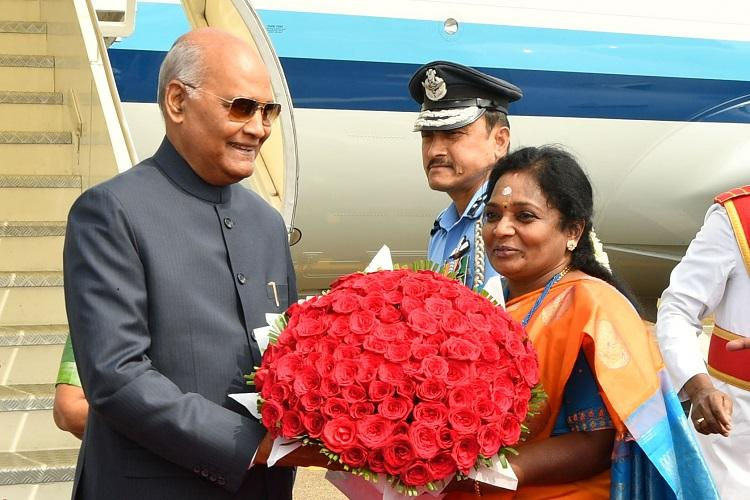 President Ram Nath Kovind reaches Secunderabad for annual southern sojourn till Dec 28
