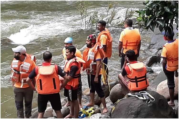 Teen from Keralas Kozhikode washed away in flash floods rescue operations on