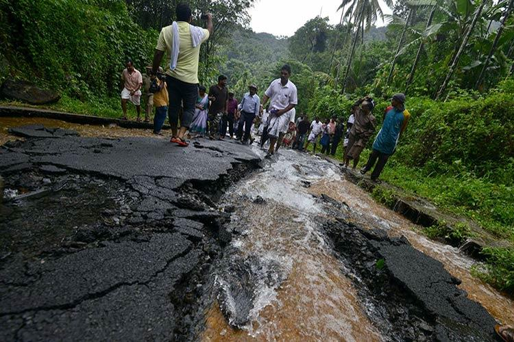 Landslides and flash floods in Kerala kill five including three kids