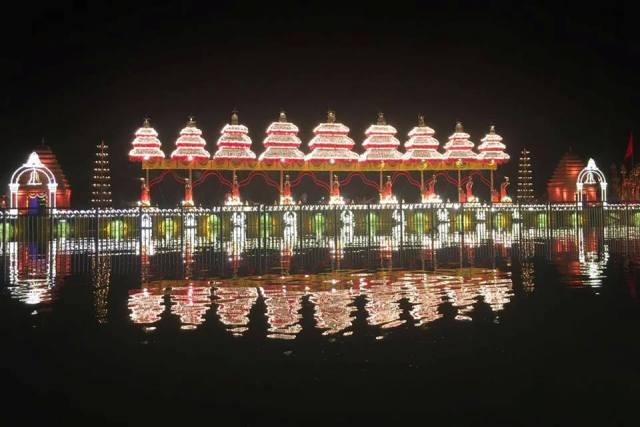 Day one of Krishna Pushkaralu in Andhra Two die during festivity