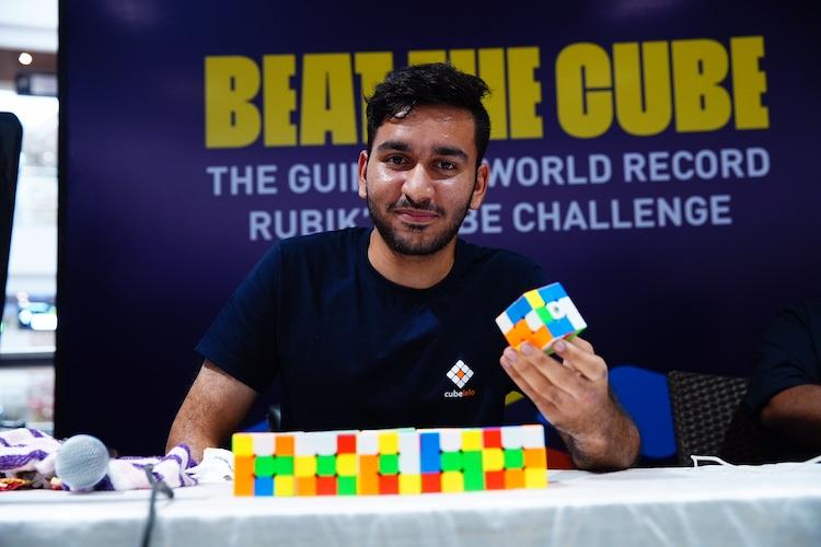 This Chennai boy broke Guinness world record by solving 2474 Rubiks cubes in 24 hrs