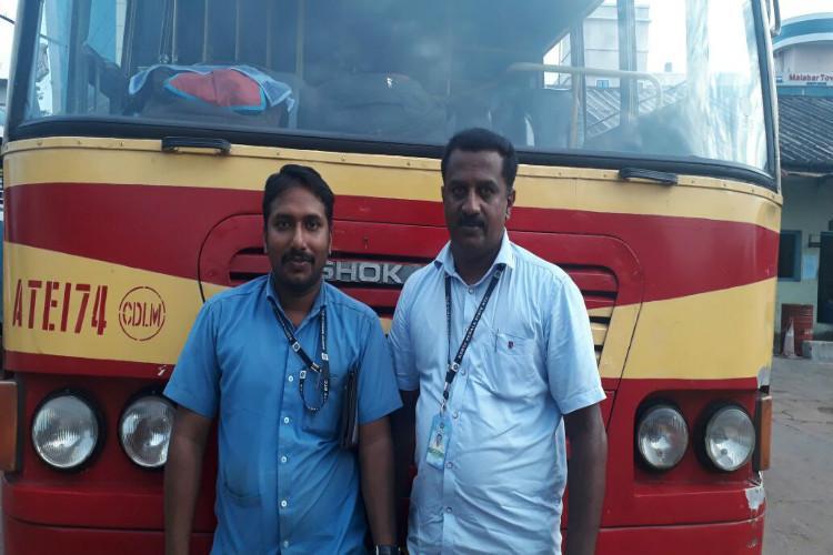 KSRTC bus turns ambulance rushes pregnant woman to hospital in Thiruvananthapuram