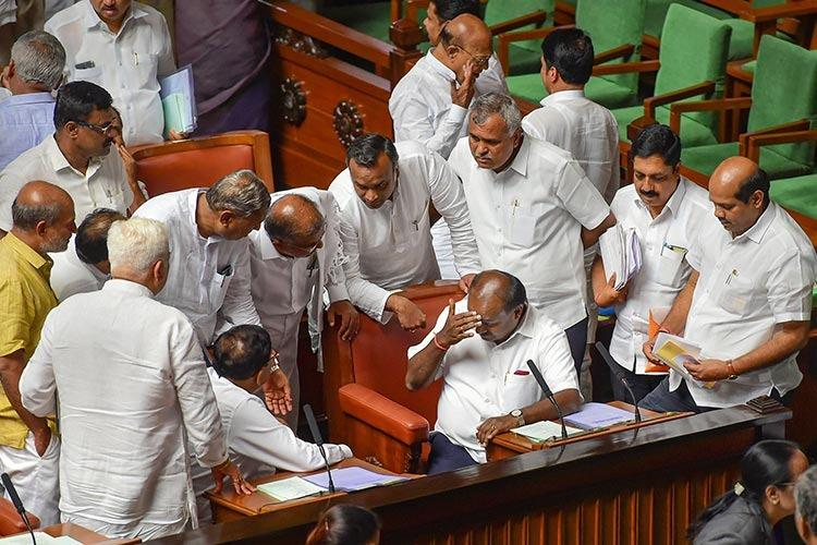 Explainer What is a trust vote and how will it affect the government in Karnataka