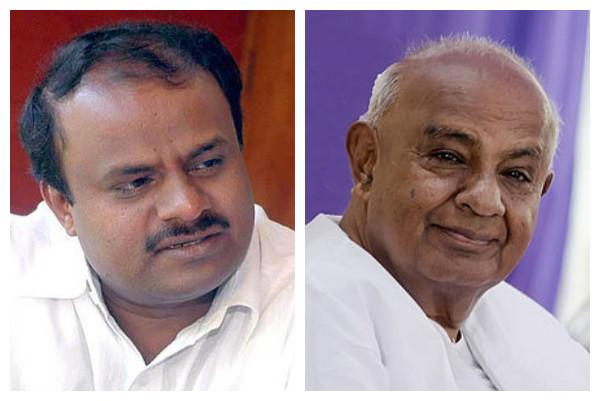 We will come back to power just as the Pandavas did when in exile Deve Gowda