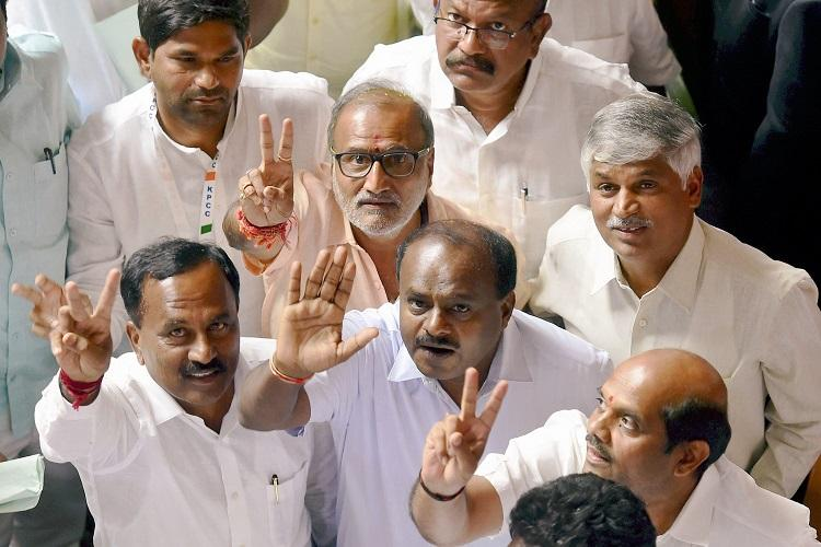 Kumaraswamy invited to form Karnataka government 15 days to prove majority