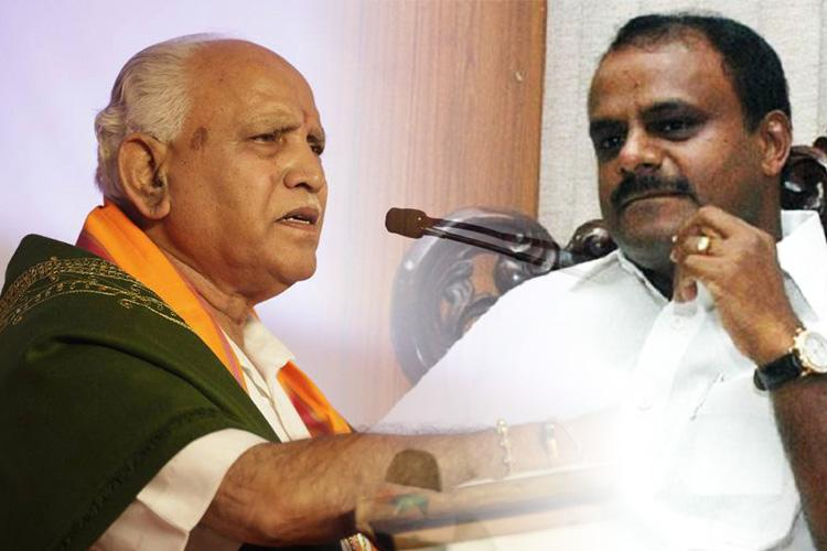 BJP seeks time from Ktaka Guv urges him to deny HDKs claim to form govt