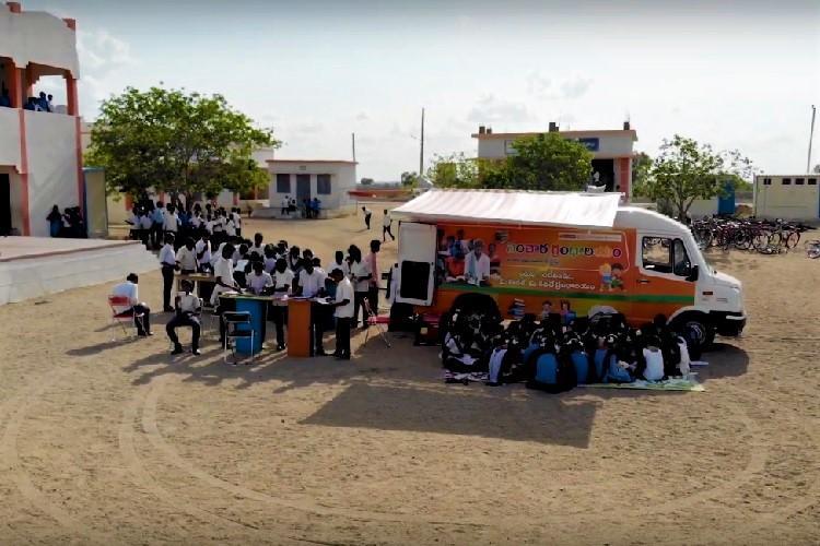 Books on wheels How a van is promoting literacy in Andhras Kurnool