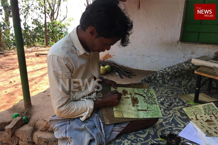 Meet Krishna the Kurumba artist breathing life into a 3000-year-old tribal art form