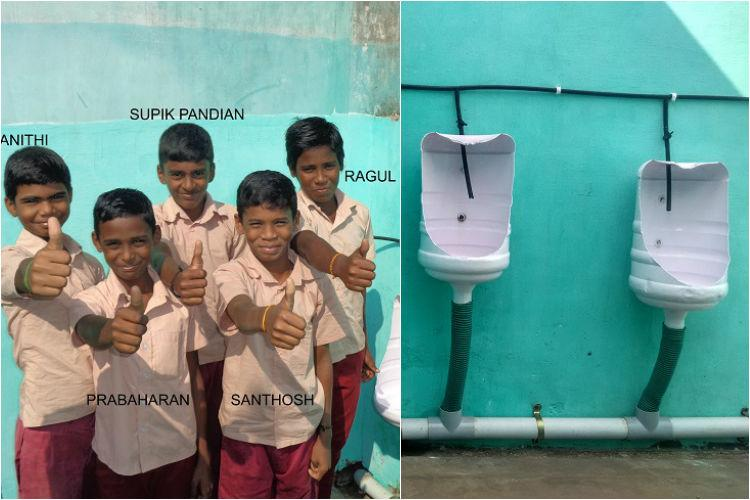 Turning water cans into urinals these ingenious TN boys solved their schools biggest problem