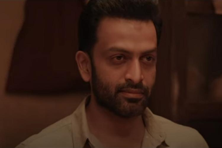 Watch Prithvirajs Kuruthi teaser is dark and full of action