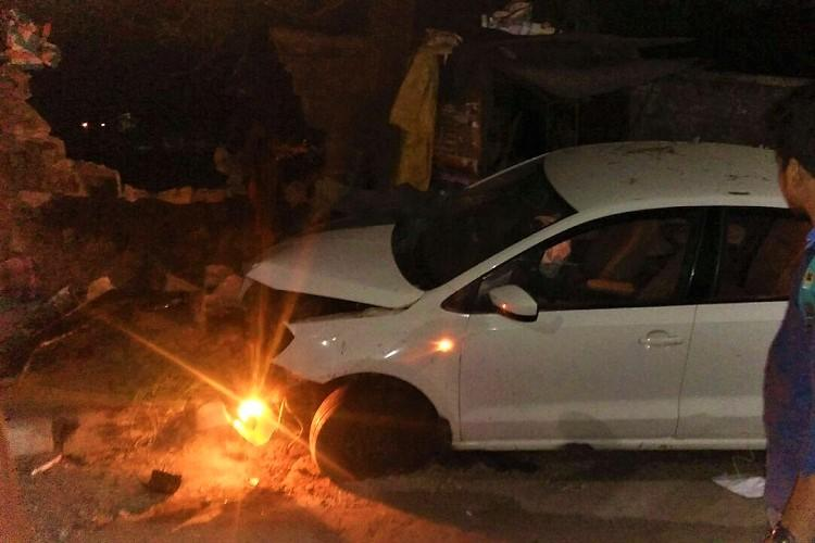 Car runs over man sleeping on pavement in Hyderabad case filed against driver