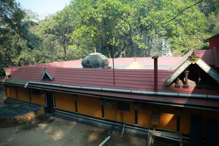 The Kuthiranmala Sree Dharmasastha Temple in Kerala
