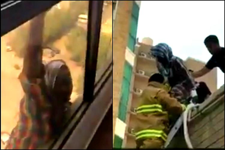 Video Kuwaiti employer films domestic workers suicide attempt instead of helping her