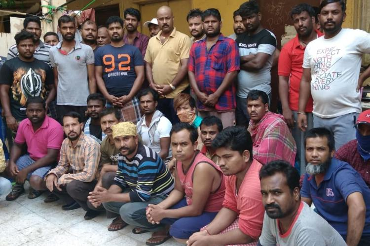 Construction workers stranded in Kuwait