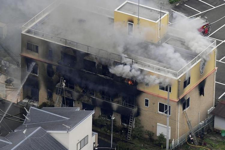At least 13 people killed in suspected arson attack at Japan animation studio