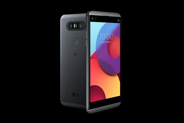 LG Electronics showcases mid-end handset, Q8