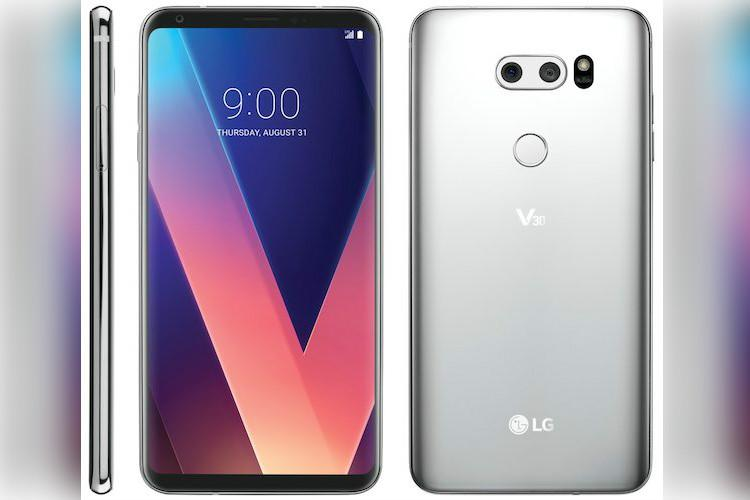 LG V30 leaked by Evan Blass, shows device at all angles