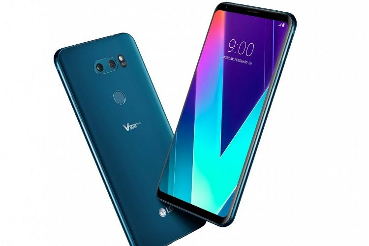 MWC 2018 LG launches V30S ThinQ V30S ThinQ packed with AI capabilities dual camera