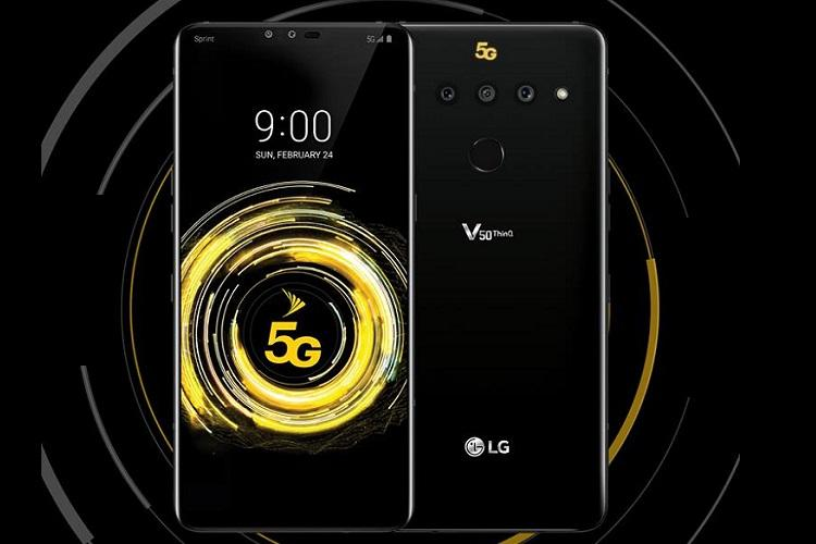LG launches LG G8 ThinQ and LG V50 ThinQ at MWC 2019
