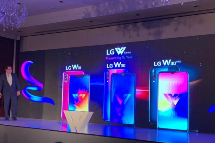LG announces three smartphones in its W series for Indian market