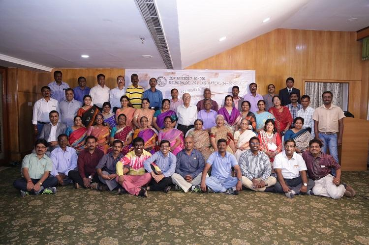 Those were the days A group organized an LKG reunion after 45 years in Chennai