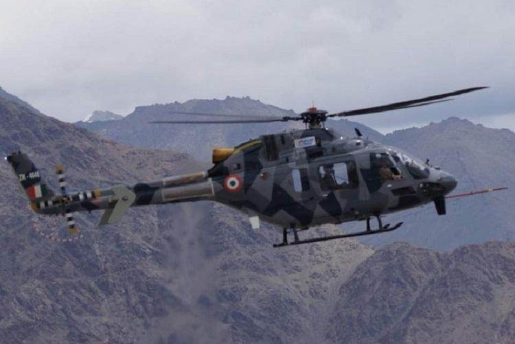 Indias light utility helicopter clears high altitude tests in the Himalayas