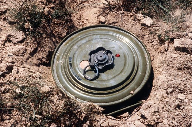 Andhra police detect voluntarily set off two mines by Maoists in Vizag Agency area