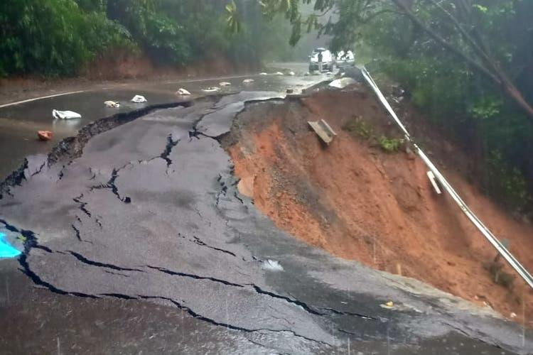 Red alert issued amid fresh landslides in Kodagu DC says situation under control