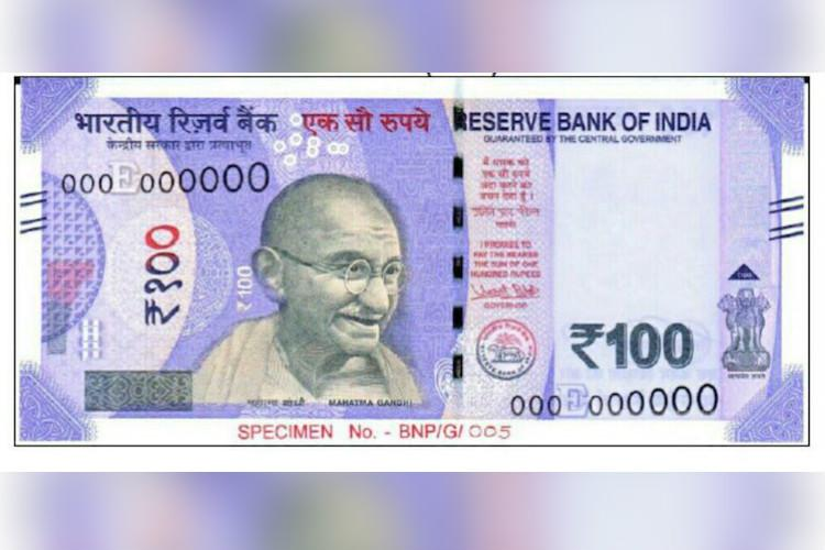Image result for 100 note