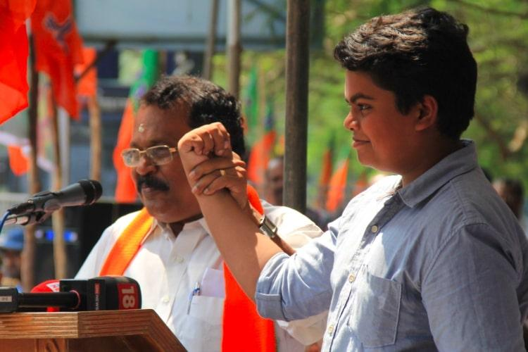 CPIM leaders daughter says she was told to leave govt job after son attended BJP rally