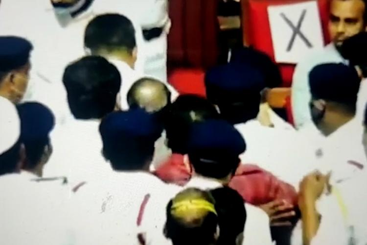 Ruckus at Karnataka legislative council