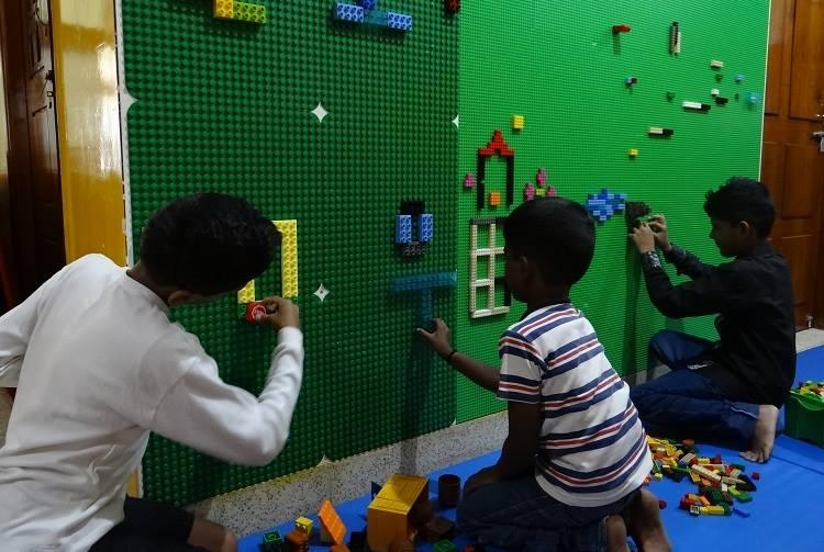 This Bluru school helps children with learning disabilities discover the world through Lego