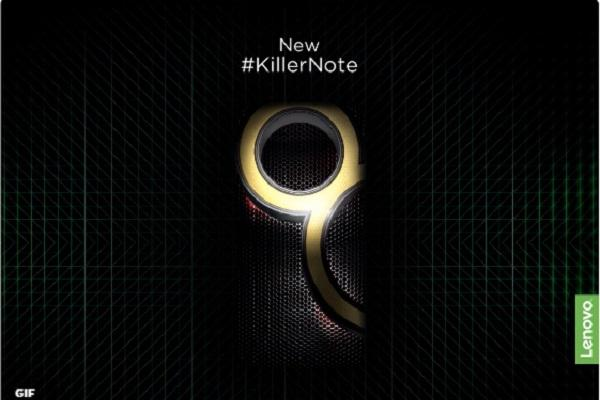 Lenovo K8 Note teaser To come with 4GB RAM and Android 711