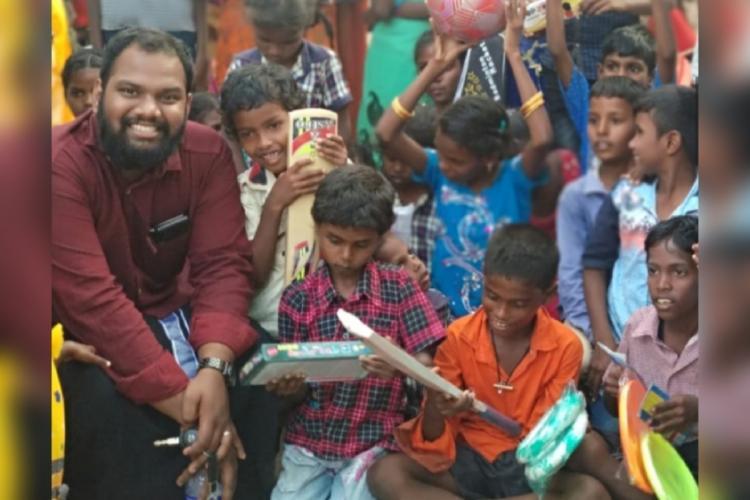 Founder of Pretty Little Hearts Leo Akash Raj