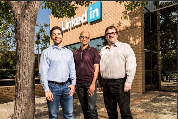 Microsoft is buying LinkedIn for 262 billion