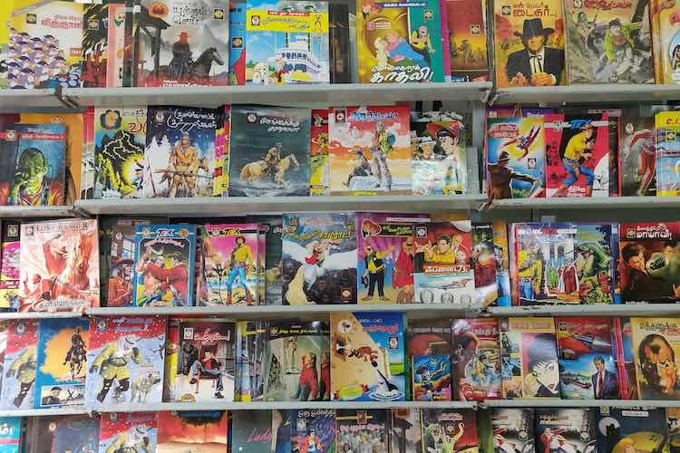 This TN publisher has been bringing international comics in Tamil for nearly 50 years