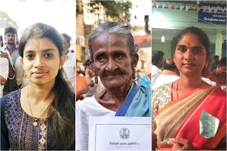 College students to an 80-yr-old 6 women who won in Tamil Nadu local body polls