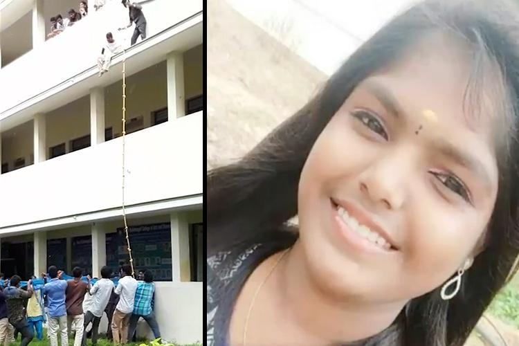 Coimbatore tragedy Expert asks why student was forced to jump from 2nd floor