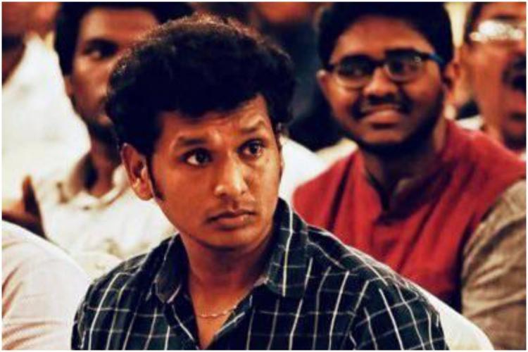 Tamil Film Director Lokesh Kanaragaraj Tamil film director in a black check shirt