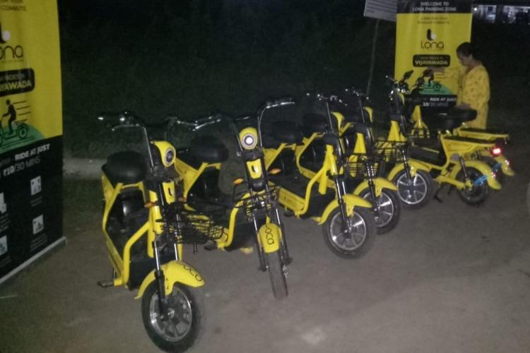 Vijayawada gets docked bike rental services Bounce and Lona launch operations