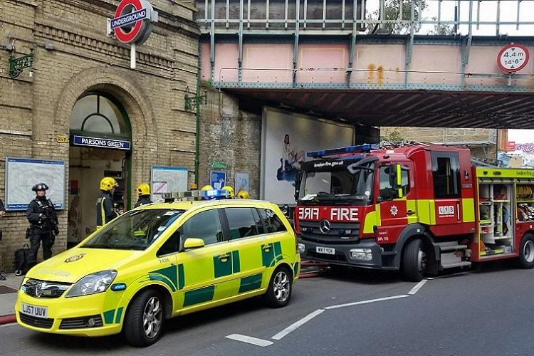 London Tube train hit by terror attack several injured