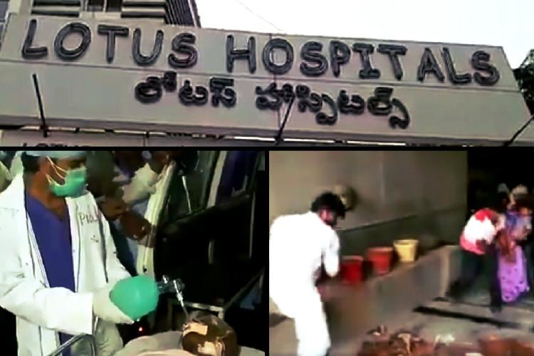 Video Family ransacks private hospital in Hyderabad after minor dies