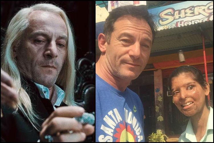 Lucius Malfoy visits cafe run by acid attack survivors in UP says he was stunned witless