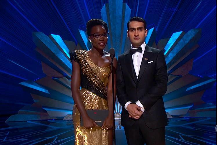 Were immigrants were dreamers Lupita Nyongo Kumail Nanjiani at Oscars 2018