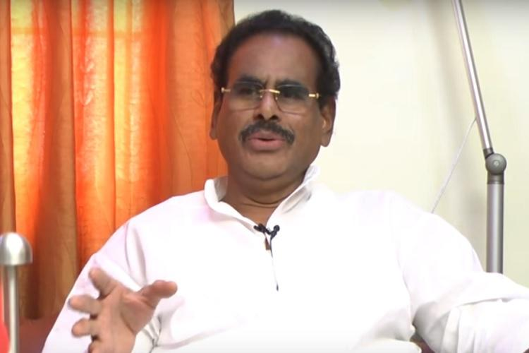 Sasikalas husband Natarajan praises EPS govt says it will complete full term