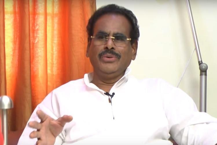 VK Sasikala's husband Natarajan passes away