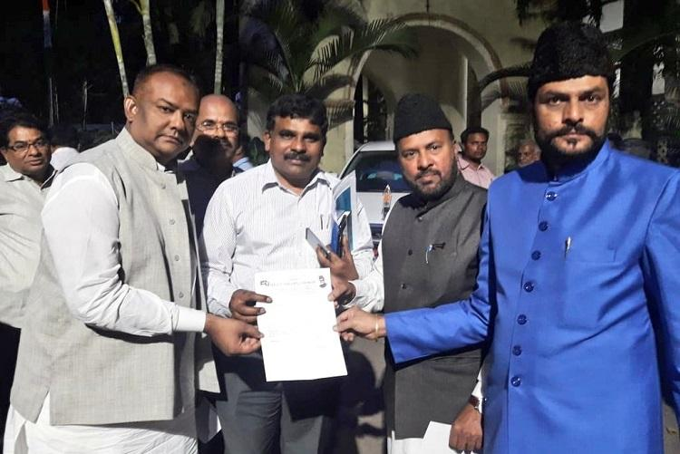 Telangana polls Alleging election code violation by AIMIM in Hyd MBT files complaint