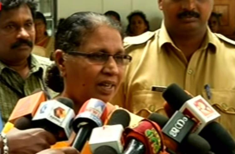 Kerala Womens commission chief receives threat letters and human excreta by post