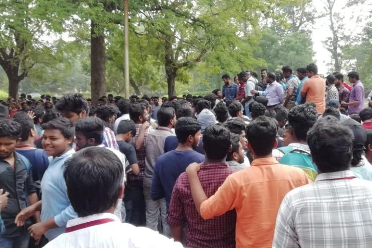 Chennai MCC student death College relents for meeting students call off protest