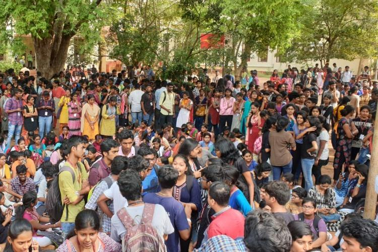 Protests in Madras Christian College after girl collapses during mandatory run dies
